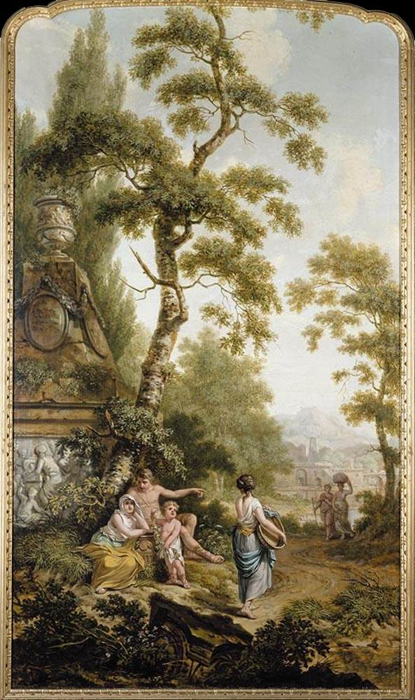 styles dictionary rococo paintings