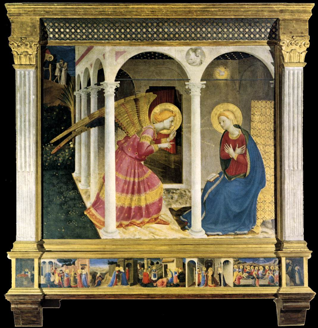 analysis of fra angelicos annunciation The christian science monitor is an international news organization that delivers thoughtful fra angelico at san marco by william hood the detailed analysis in this volume places the artist firmly in his period and in dominican context.