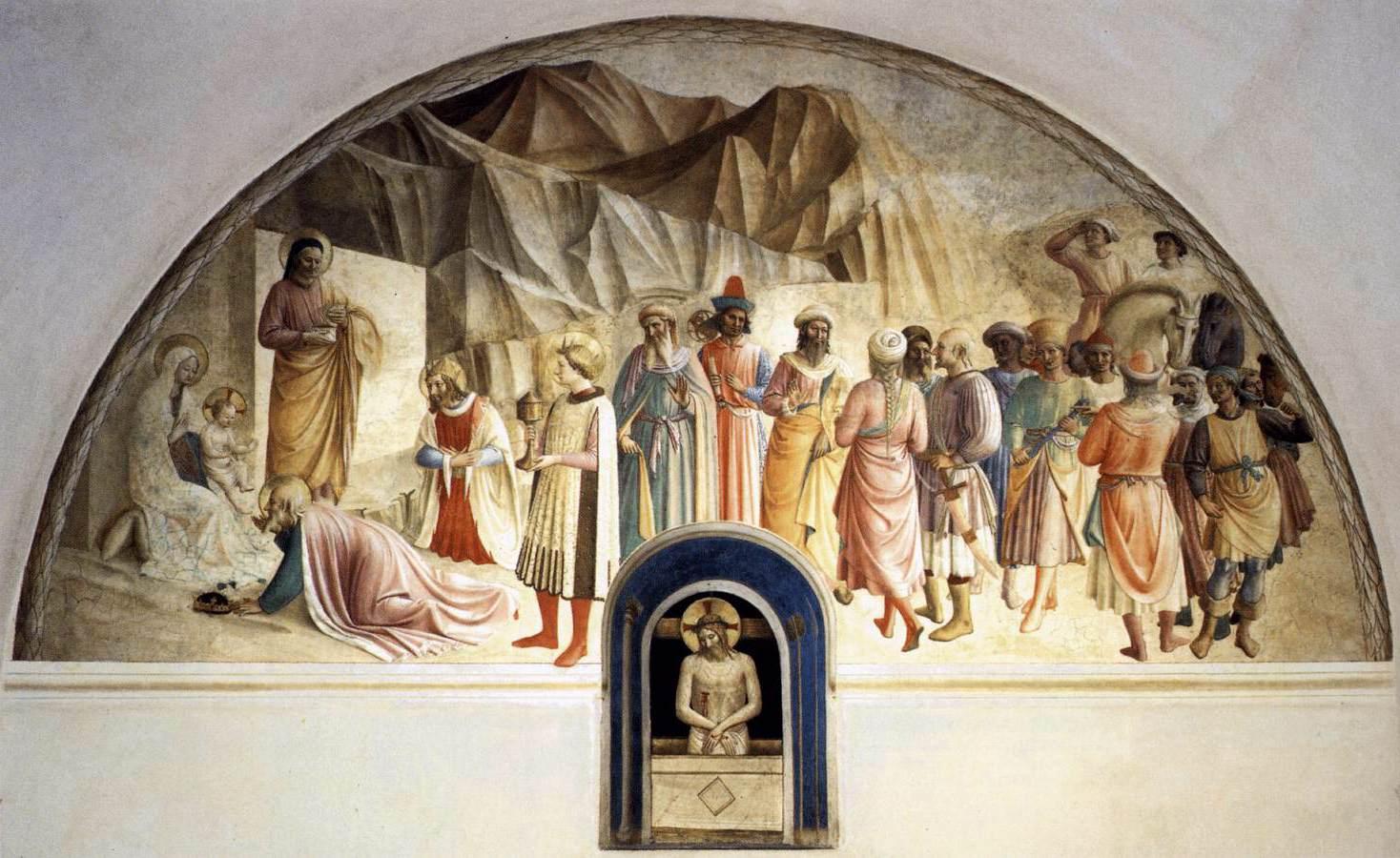 フラ・バルトロメオの作品だけでなく,ピストイアでその存在を認識したフラ・パオリーノ,マリオット・