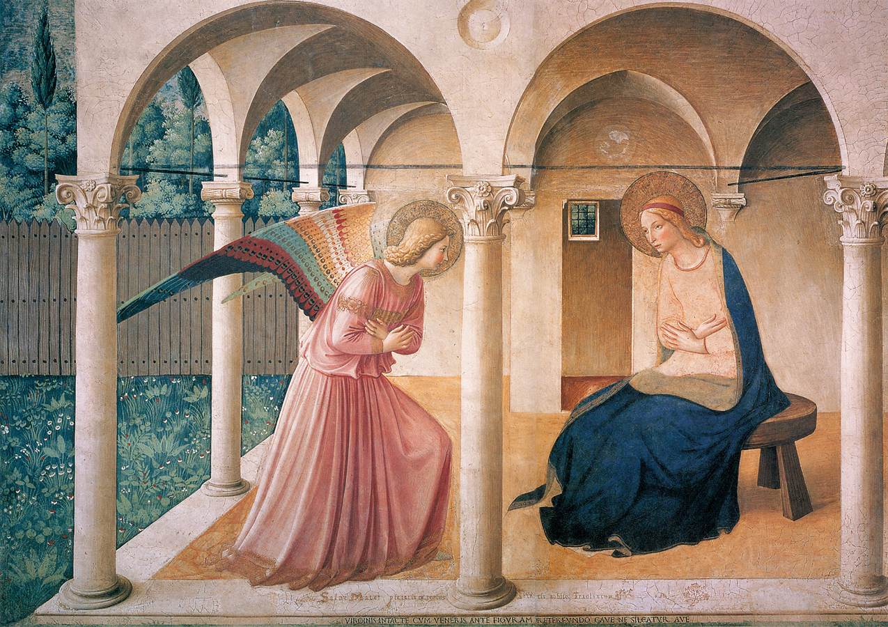 l'annonciation - Fra angelico 1430 -1432