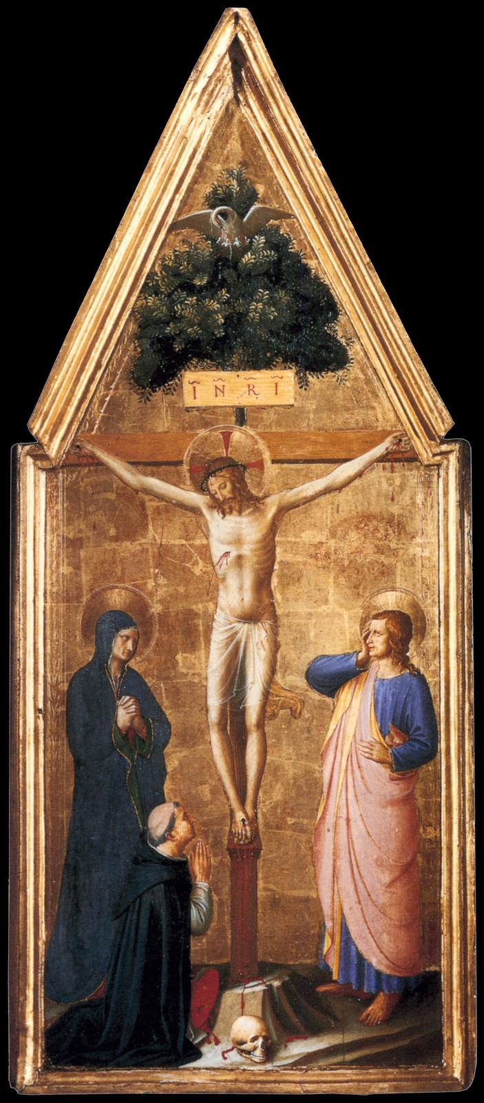 The Crucified Lovers: Various Panels