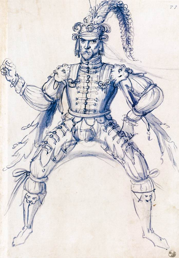 Festival Costumes Drawing Costume Drawing For a Knight