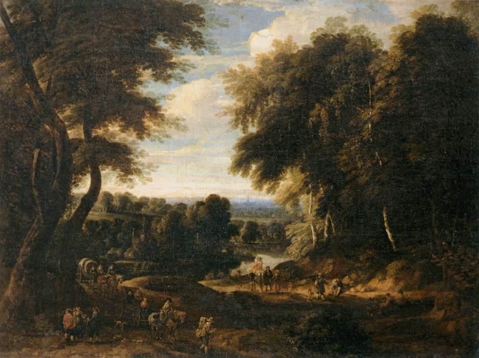 Canvas Oil Painting Of Paris