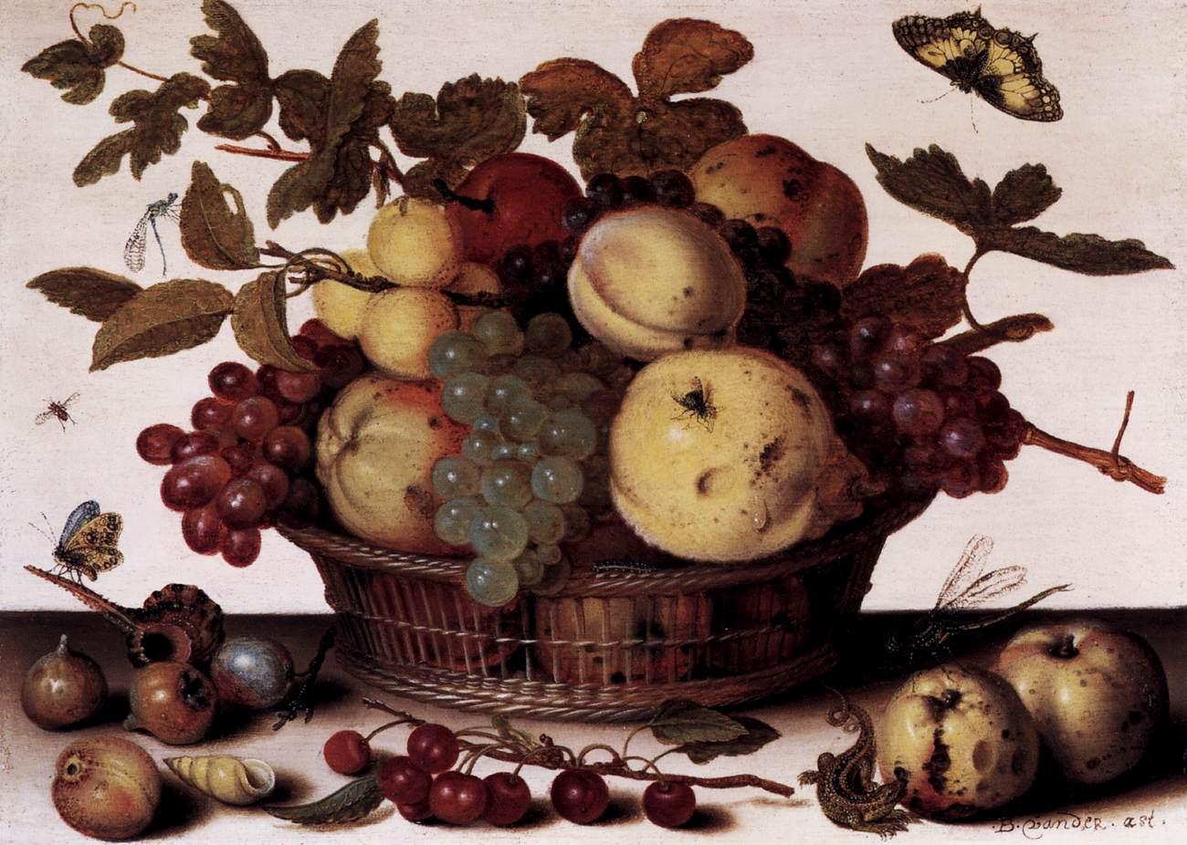balthasar van der ast basket fruits