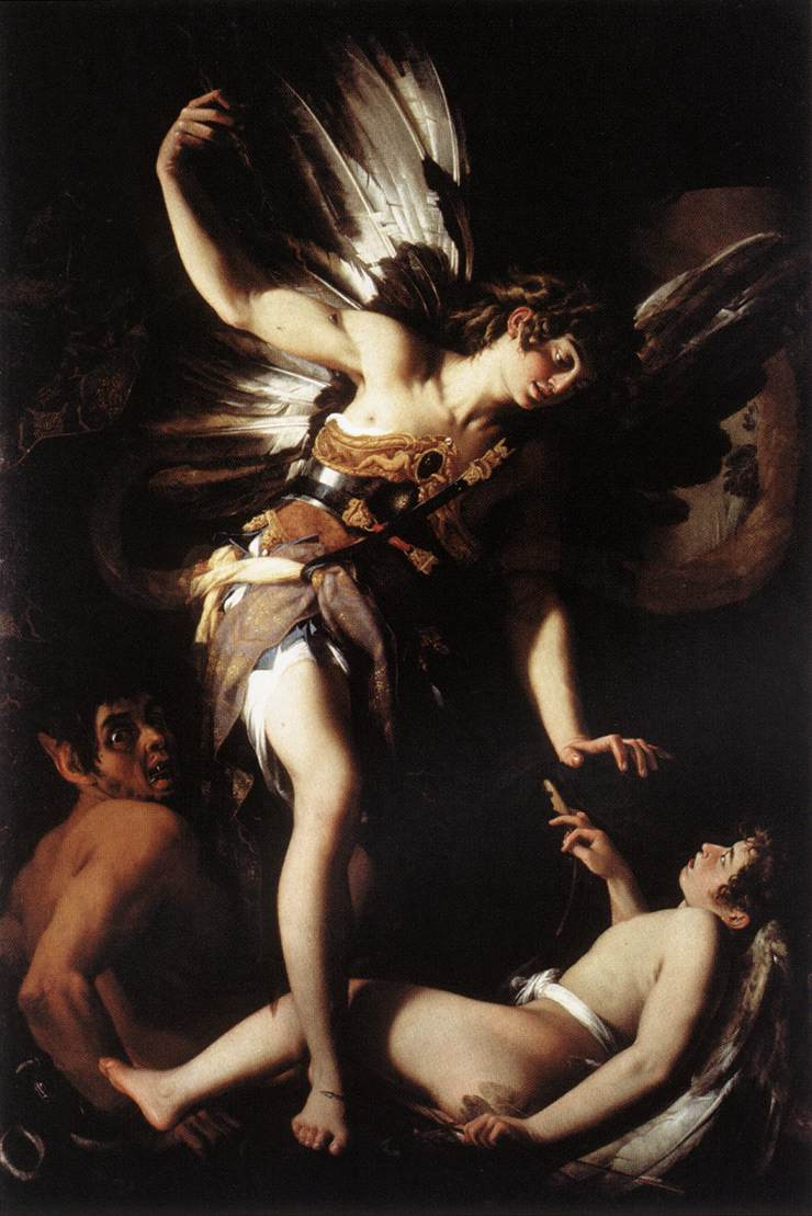 Amor Vincit Omnia by Caravaggio 1601 Canvas Wall Art Poster Print Painting