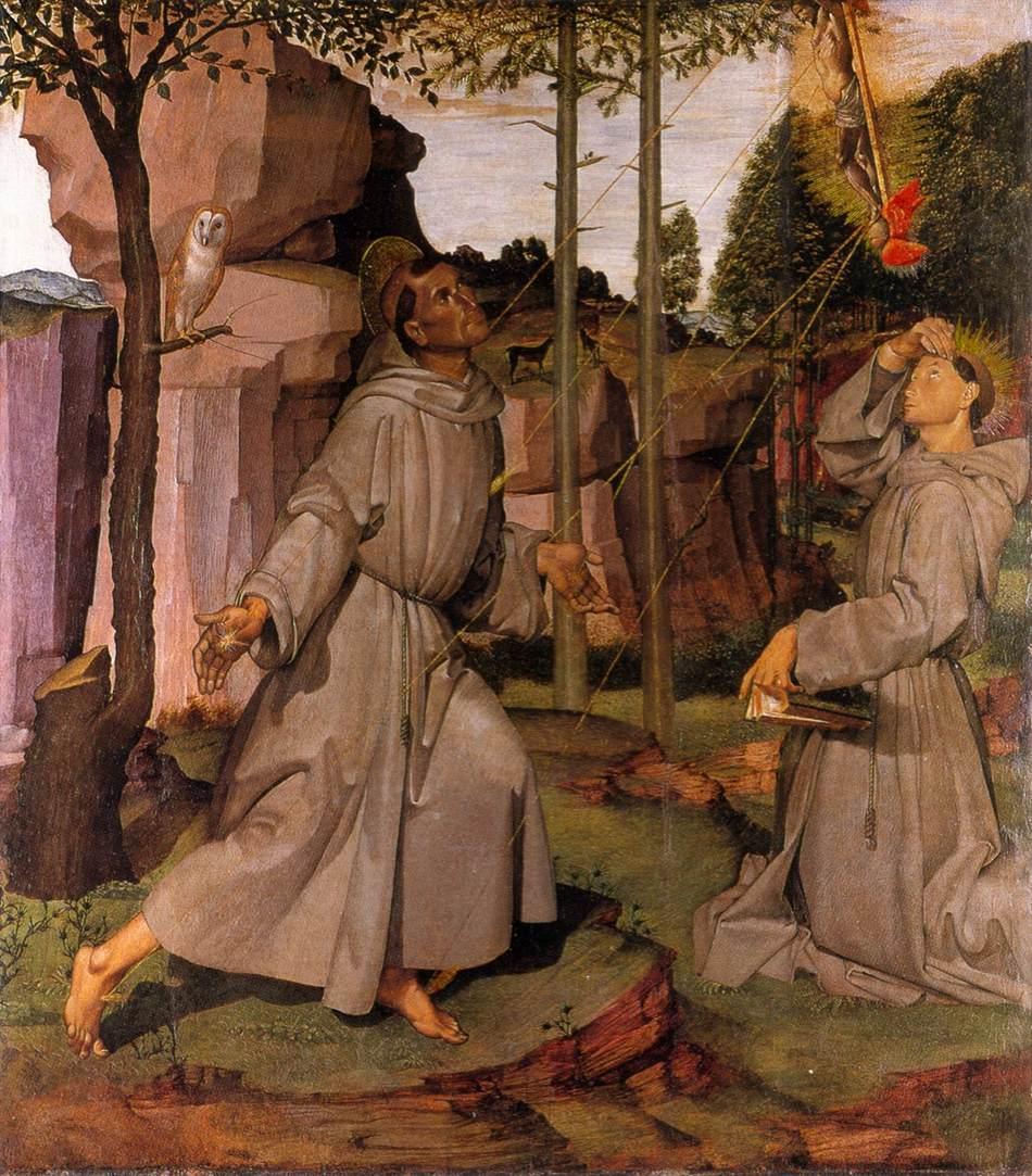 Stigmata of St Francis dans immagini sacre 5francis