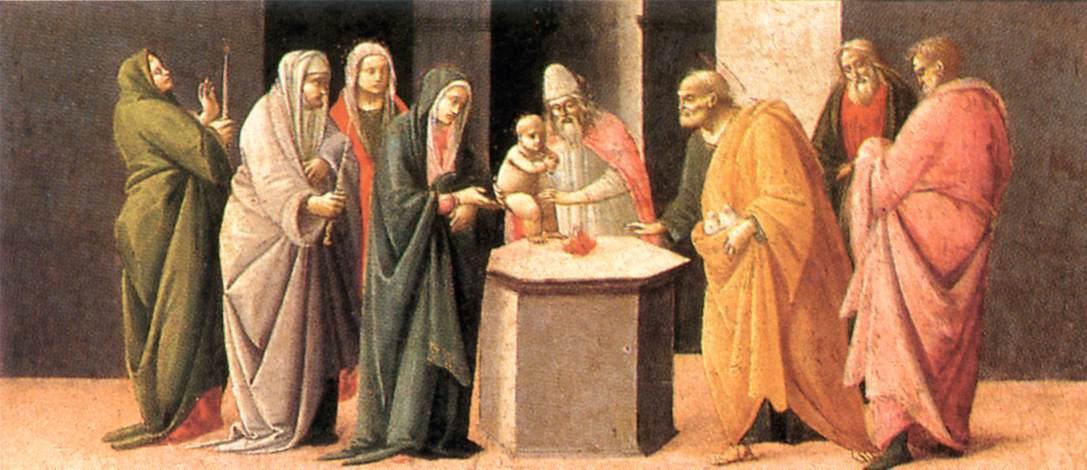 2 febbraio presentazione del signore al tempio o festa