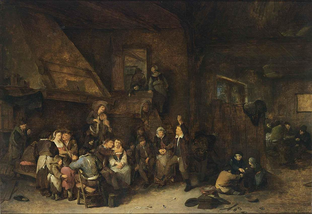 Old English Taverns http://commons.wikimedia.org/wiki/File:Cornelis_Pietersz._Bega_-_Tavern_Interior_-_WGA01575.jpg