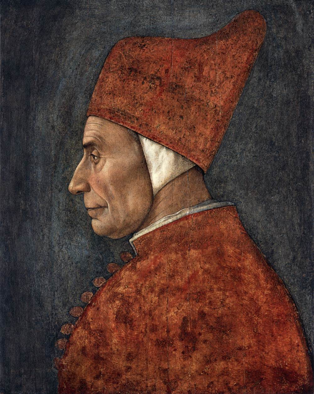 portrait of a doge by bellini gentile