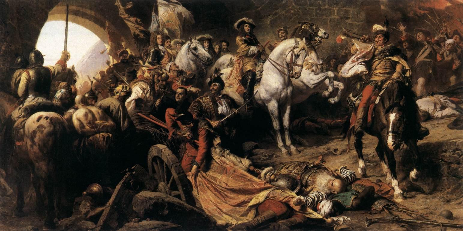 The Recapture of Buda Castle in 1686
