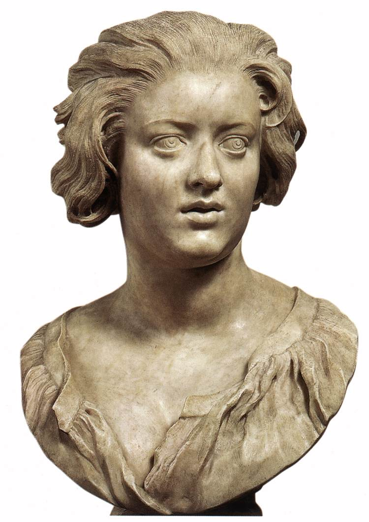 bust of costanza bonarelli by bernini gian lorenzo
