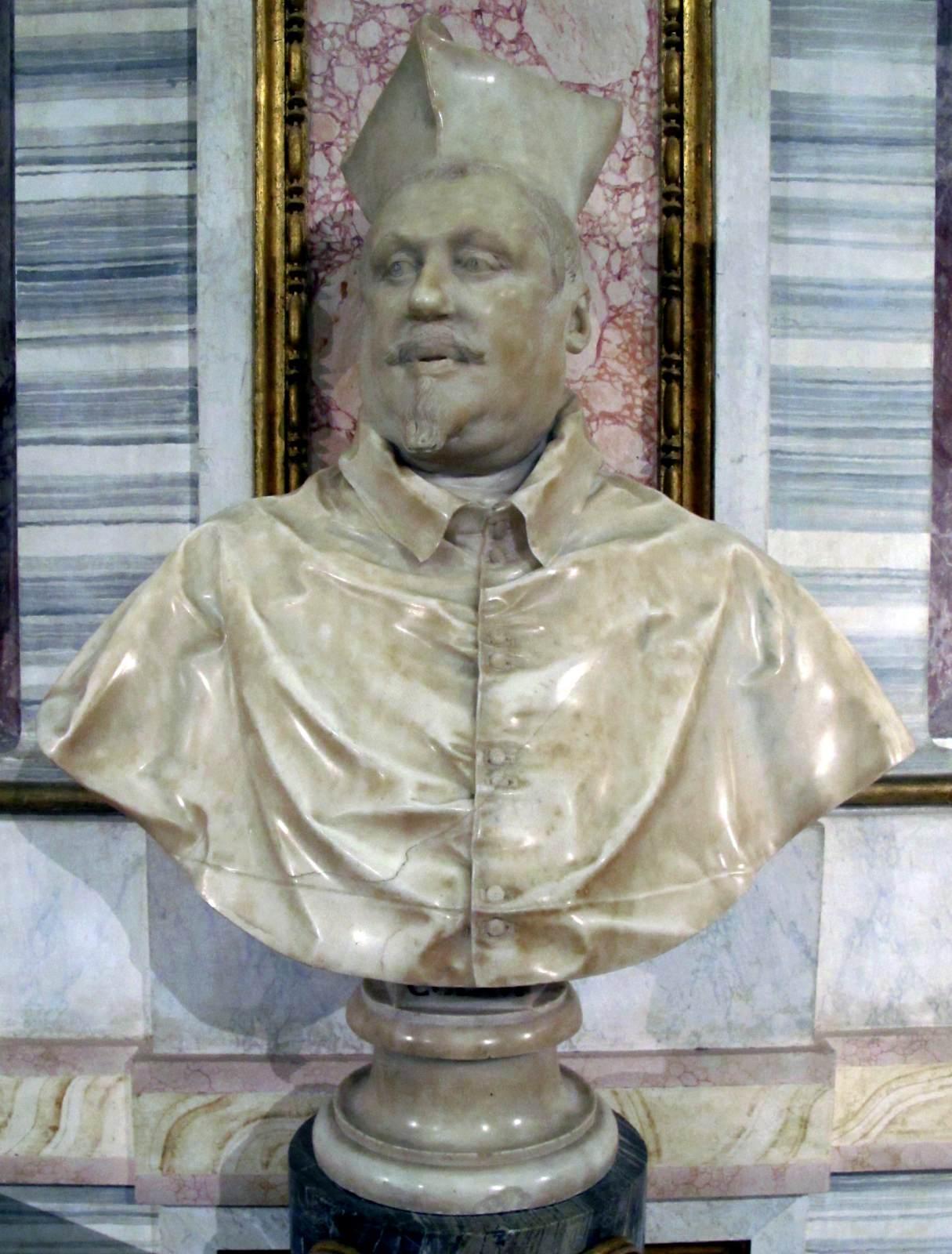 Bust Of Scipione Borghese By Bernini Gian Lorenzo