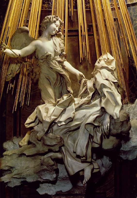 И капеллу святой было заказано украсить Бернини.