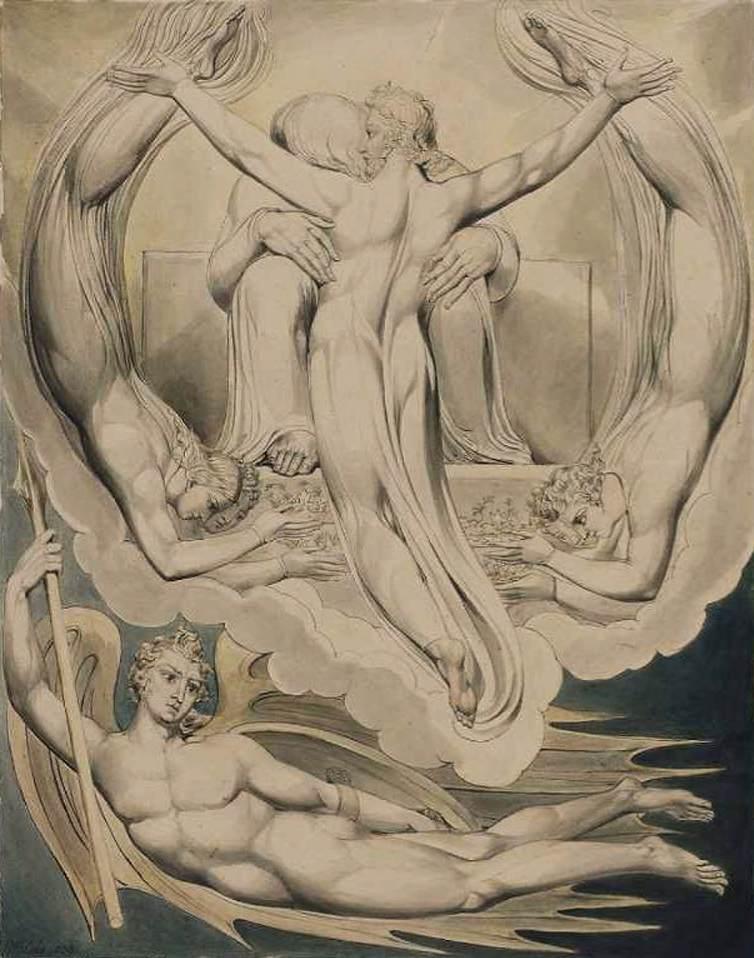 BLAKE, William Christ as the Redeemer of Man, 1808