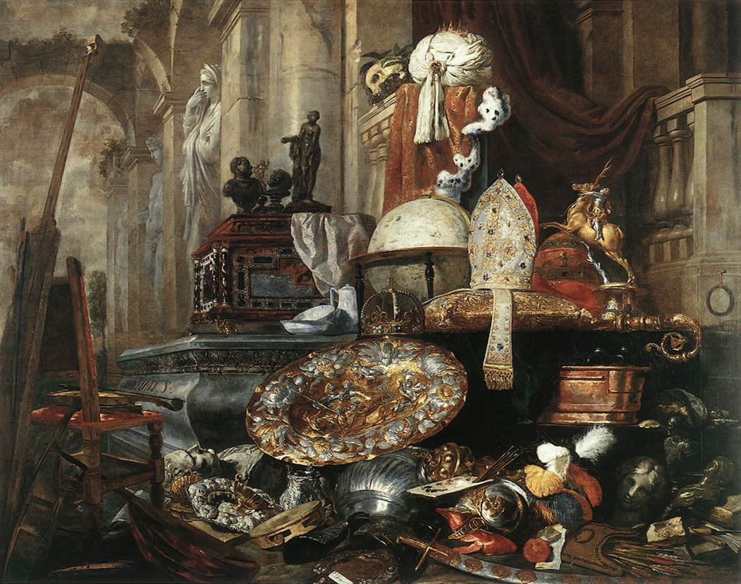 Large vanitas still life by boel pieter for Baroque lifestyle