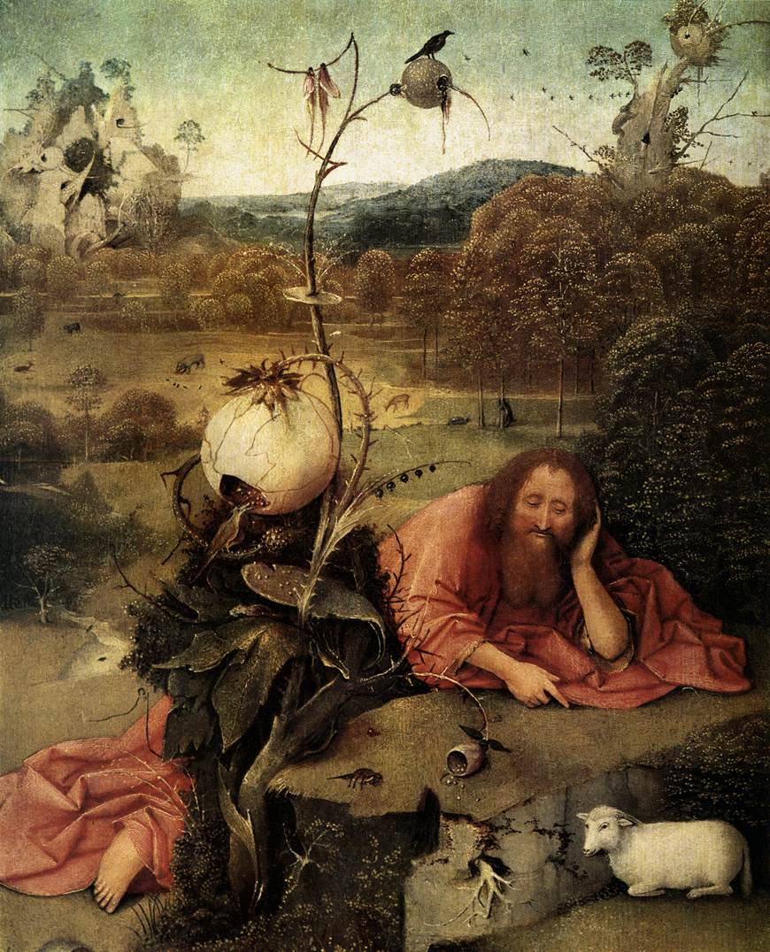 file hieronymus bosch st john the baptist in the wilderness wikimedia commons. Black Bedroom Furniture Sets. Home Design Ideas