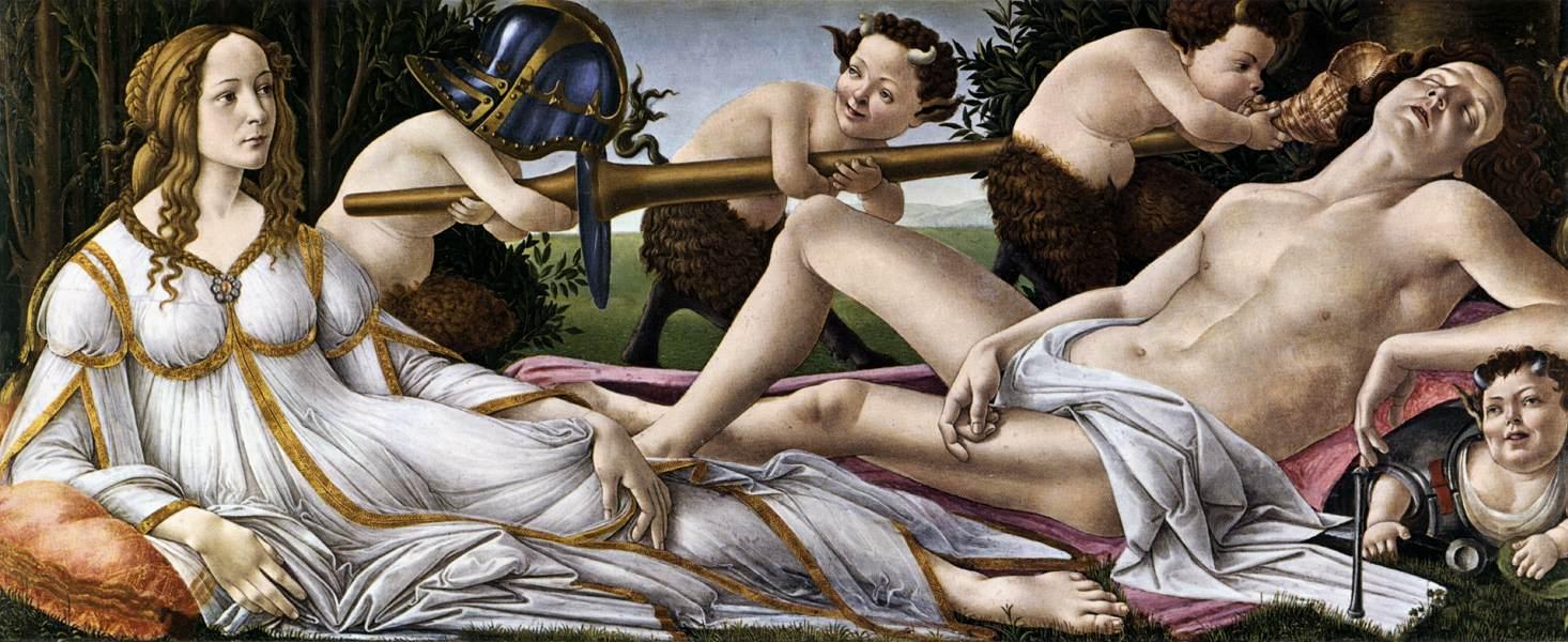 Sandro Botticelli, Vénus e Marte