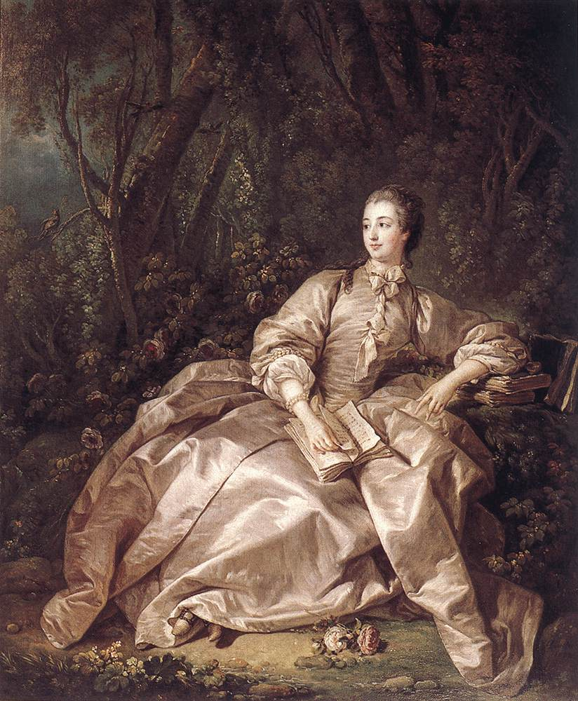madame de pompadour by boucher franois