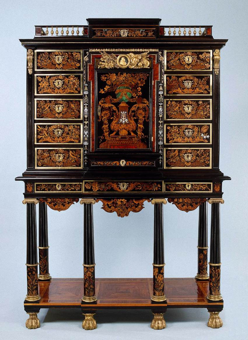 Cabinet by boulle andr charles for Meuble for french furniture