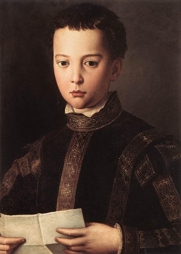 BRONZINO, Agnolo Portrait of Francesco I de' Medici 1551