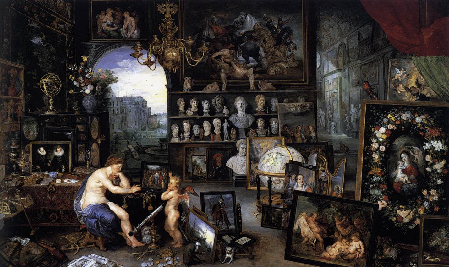 allegory of sight jan breughel the Allegory of sight is an oil painting by jan brueghel the youngerthe painting showcases varied objects associated with sight, the arts, and navigation the painting was heavily influenced by the five senses, a series of allegorical paintings done by the younger brueghel's father, jan brueghel the elder.