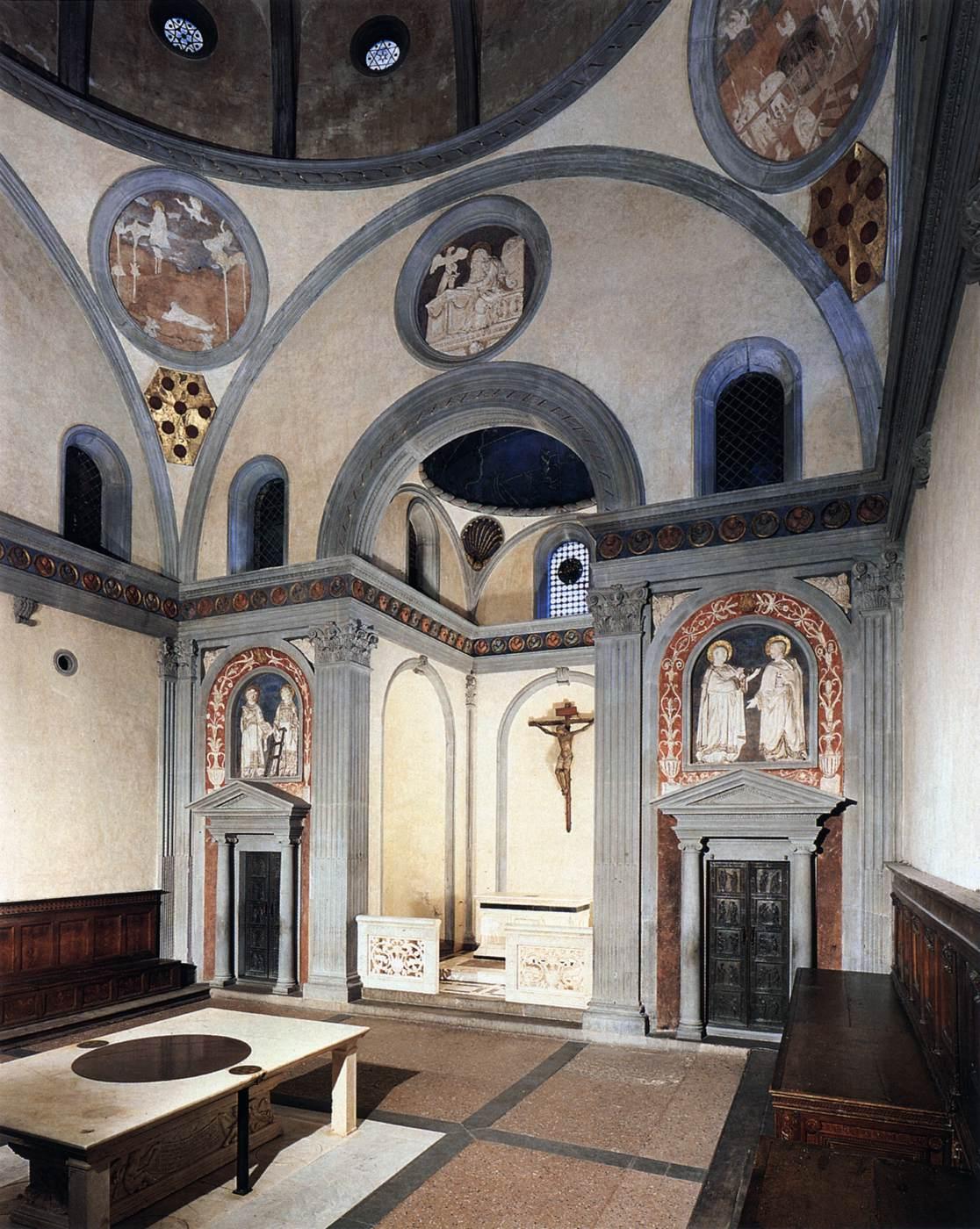 Brunelleschi Old Sacristy Old Sacristy