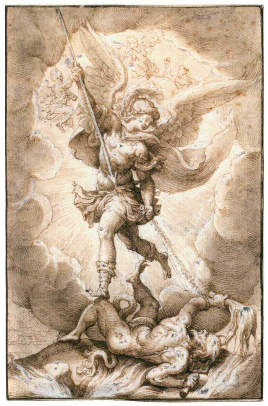 Saint Michael The Archangel By Calvaert Denys