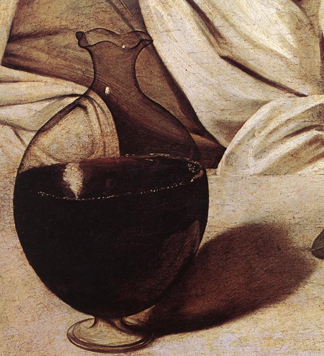 File:Michelangelo Merisi da Caravaggio - Bacchus (detail ...