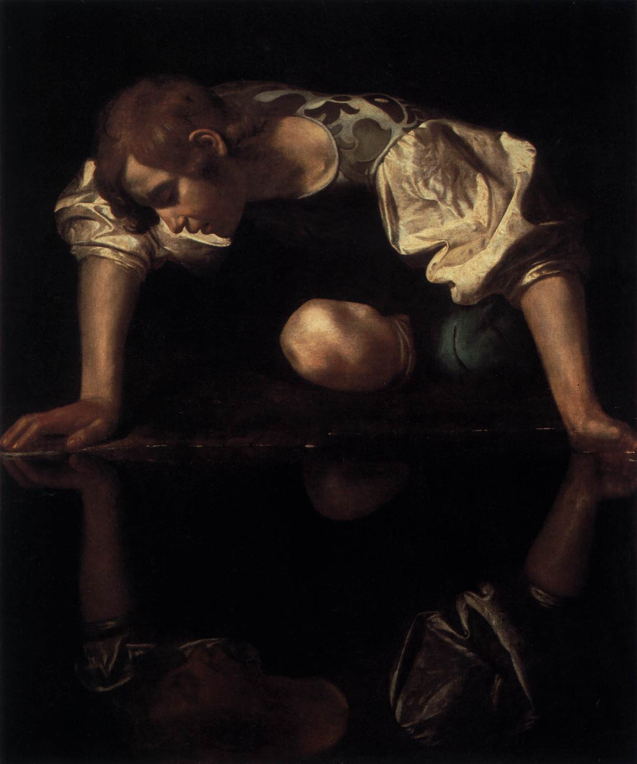 cscp weblinks narcissus baroque painting