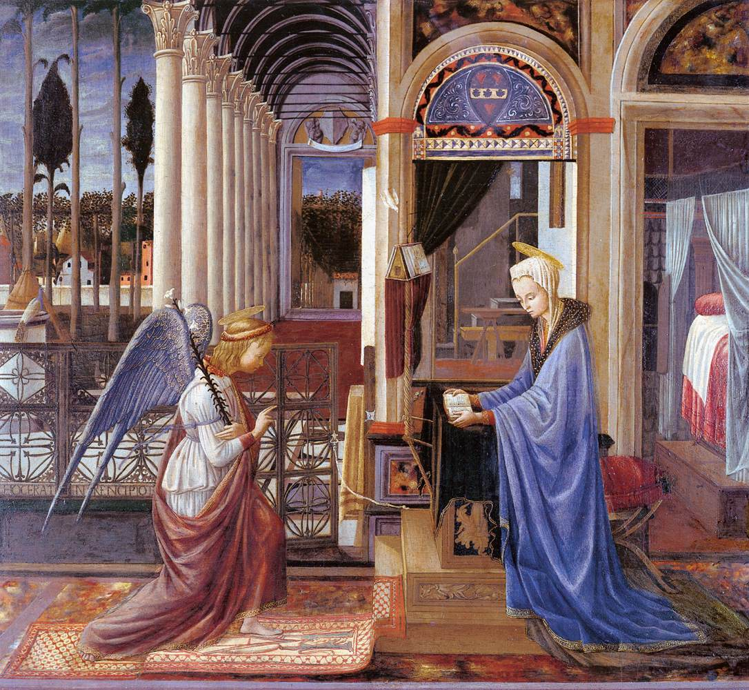 The Annunciation By Carnevale Fra