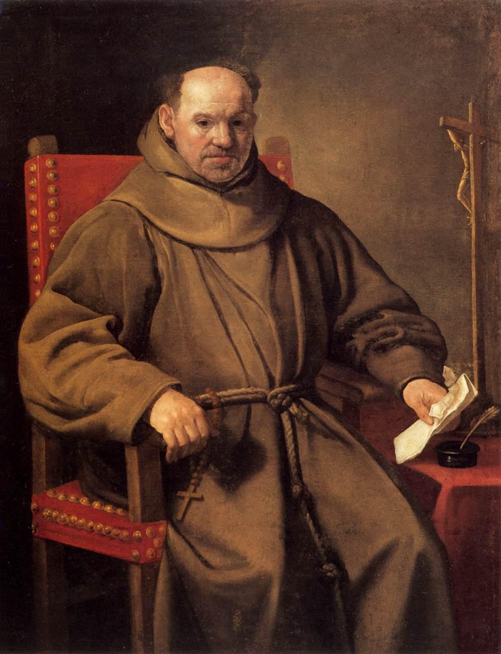 Portrait Of A Friar By Ceresa Carlo