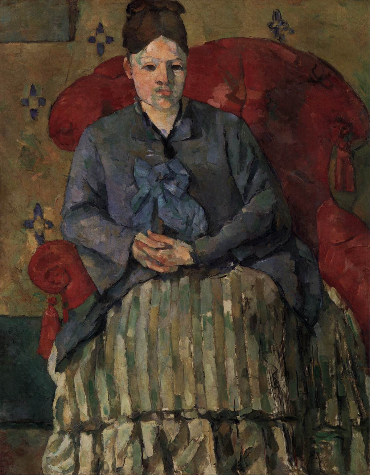 Madame Czanne In A Red Armchair By Czanne Paul