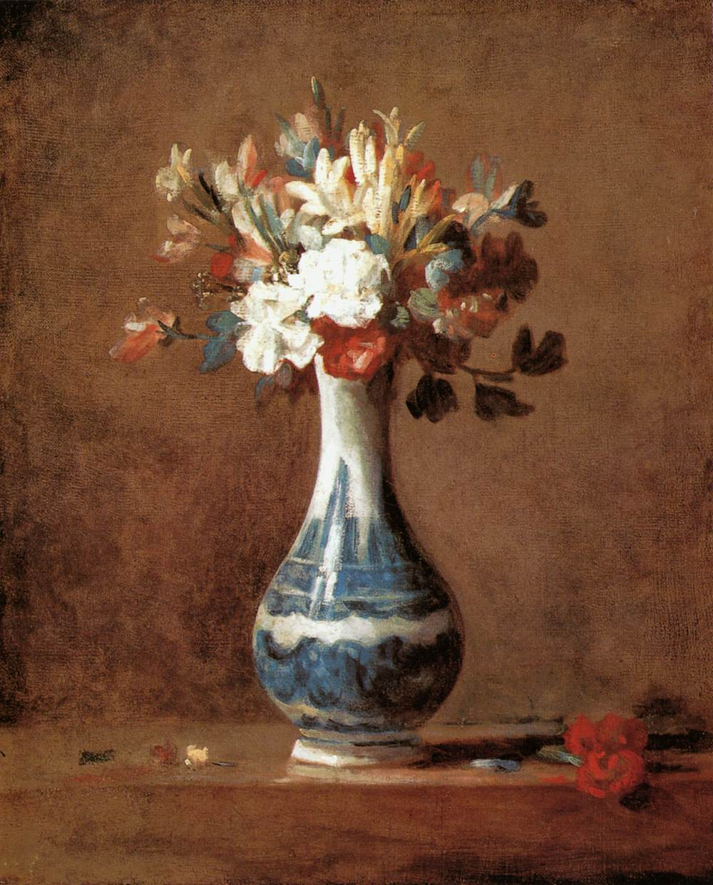 Flower Vase Oil Painting On Canvas