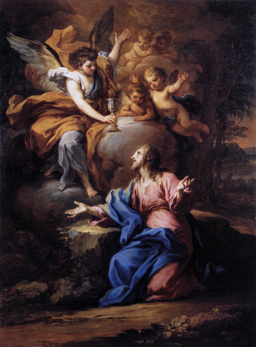 Christ In The Garden Of Gethsemane By Conca Sebastiano