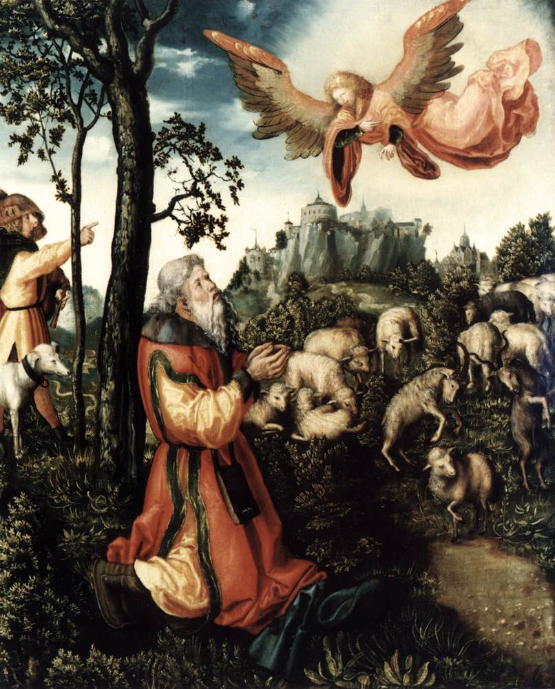 Annunciation in northern renaissance art