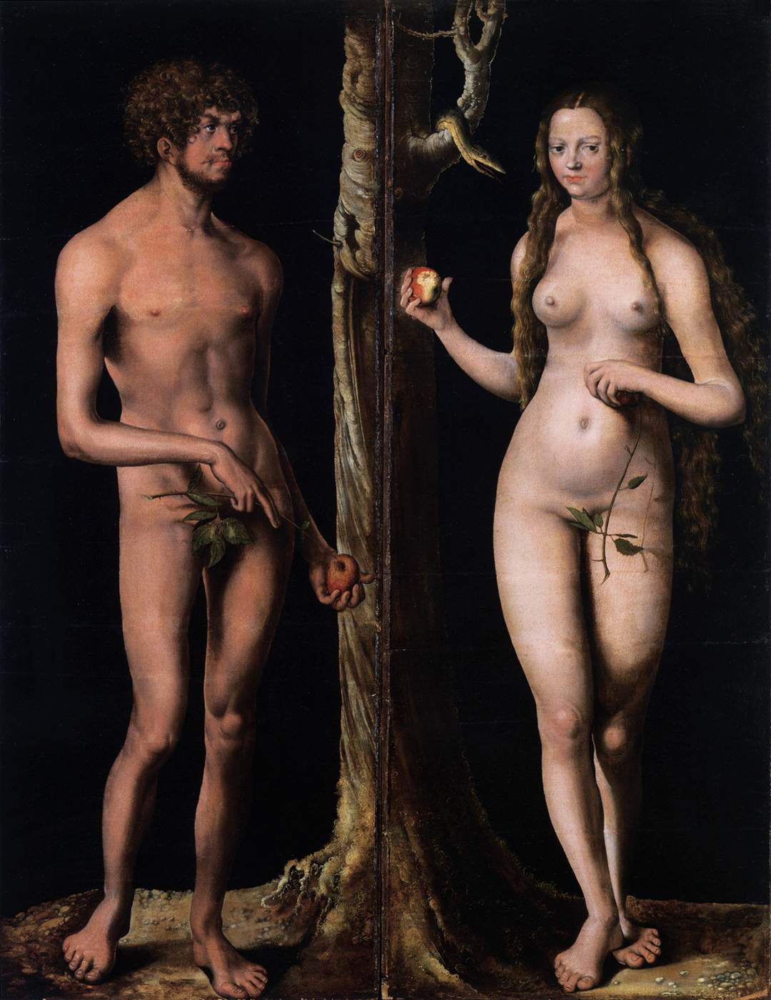 Eve Nude web gallery of art, searchable fine arts image database