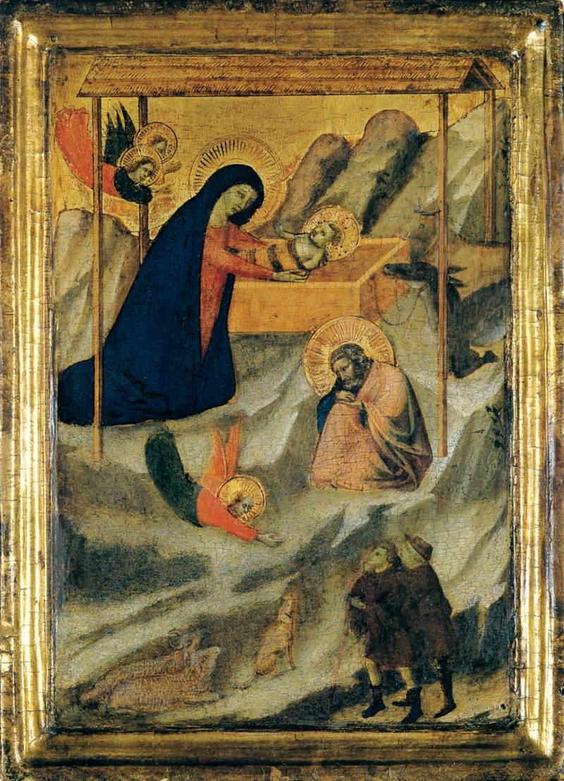 The Nativity by DADDI, Bernardo