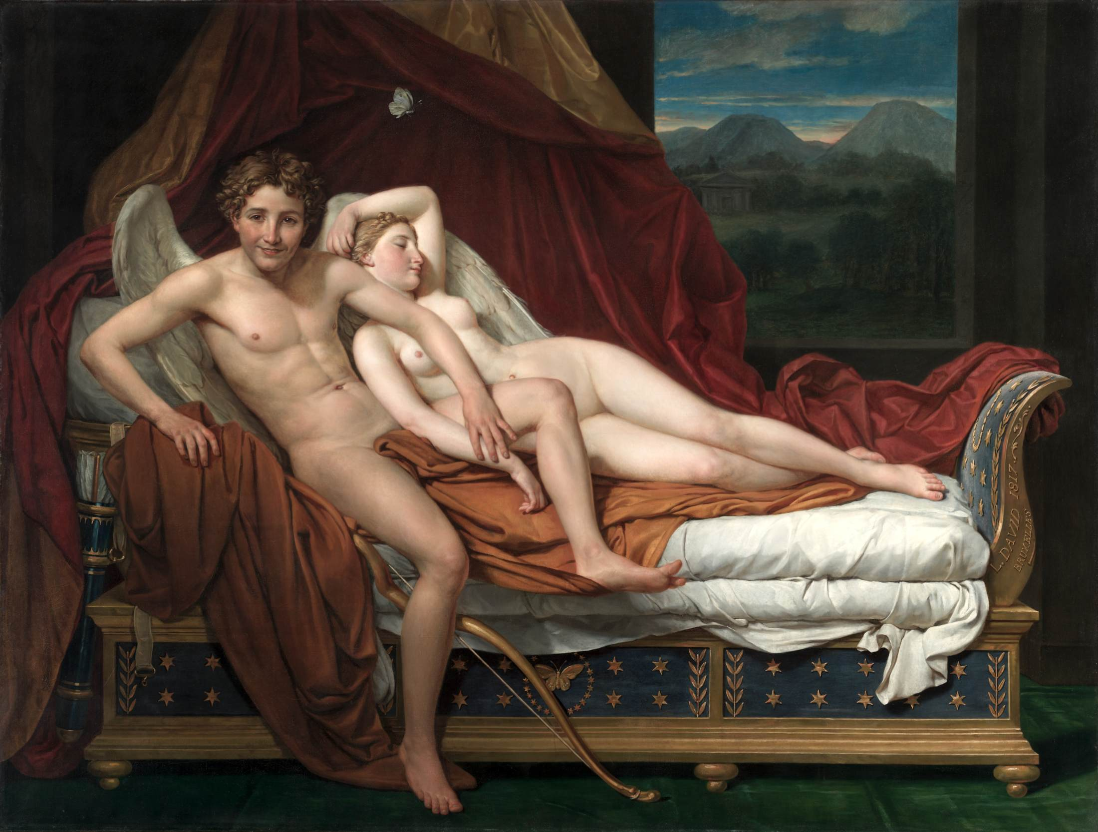 Congratulate, the Jacques louis david cupid and psyche apologise, but