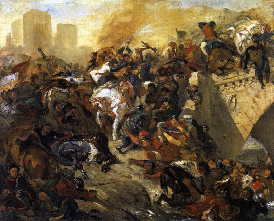 Delacroix Battle of Taillebourg