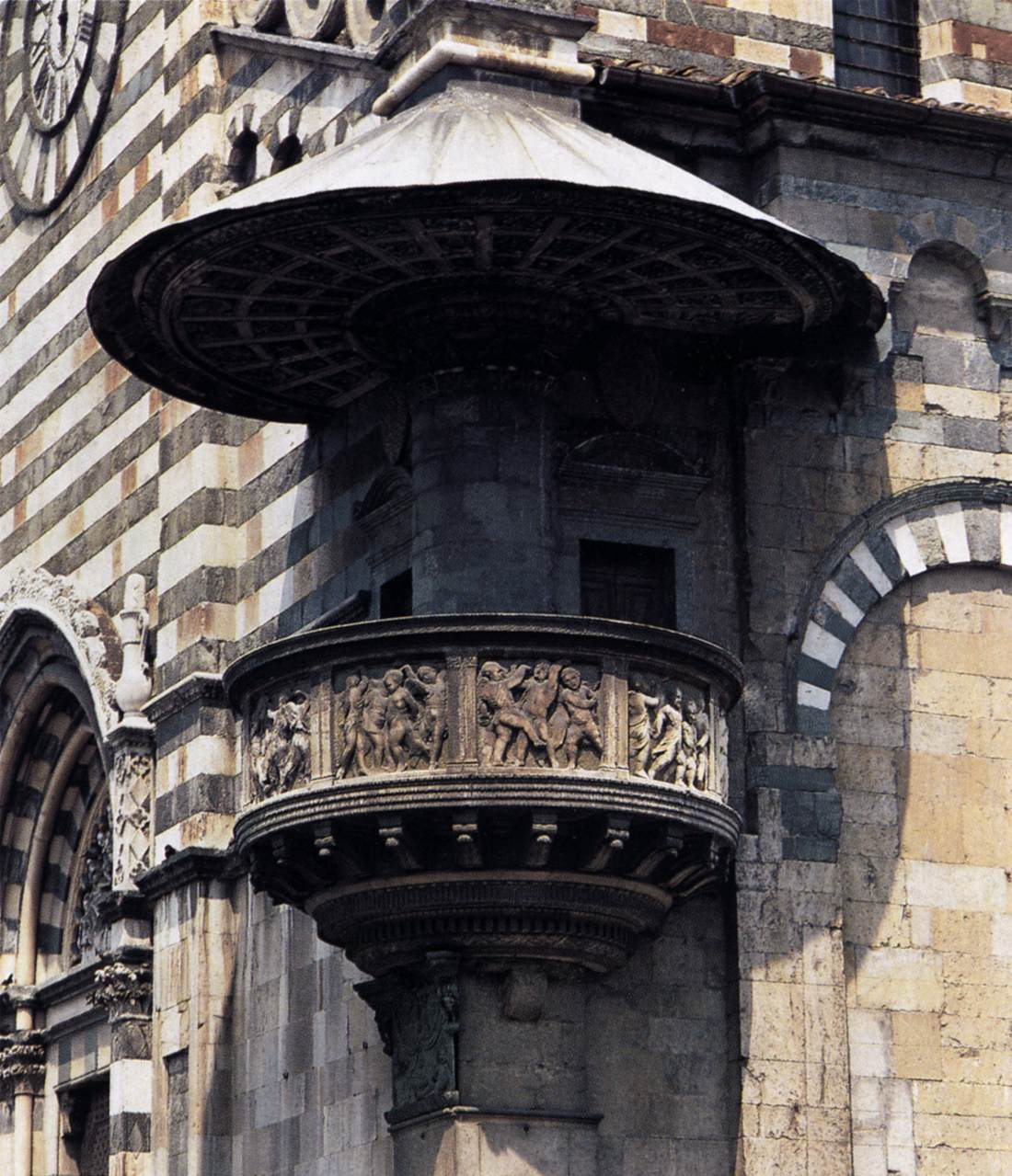 The Pulpit For The Cathedral In Prato