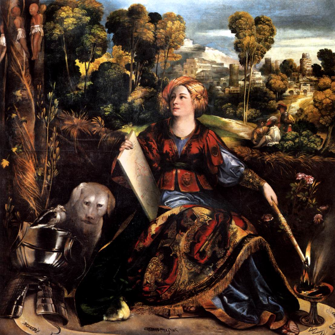 Circe (or Melissa) by DOSSI, Dosso | 1107 x 1106 jpeg 195kB