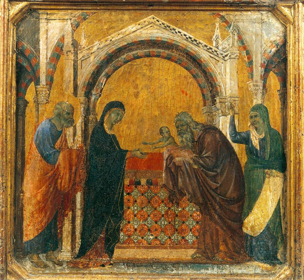 The Sunday Within The Octave Of Christmas The Gospel Luc. 2.v.33 ...