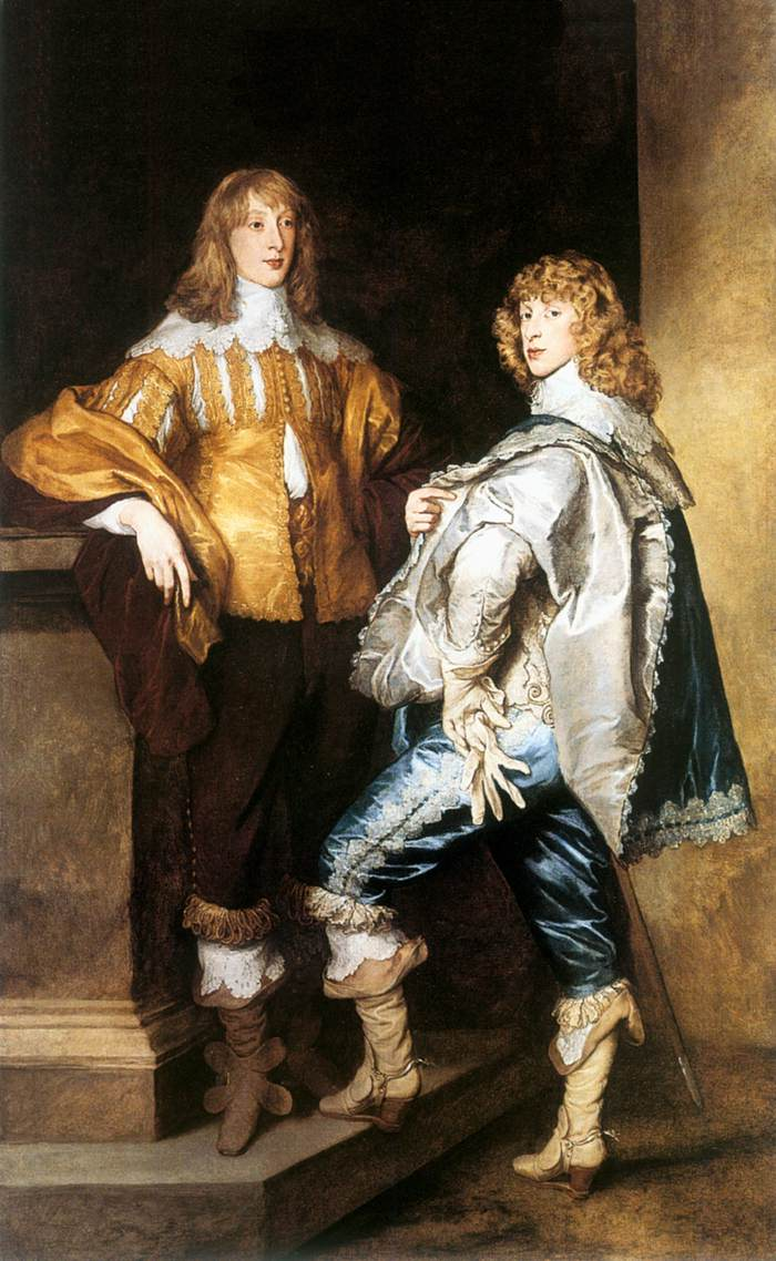 DYCK, Sir Anthony Van Lord John and Lord Bernard Stuart c1638