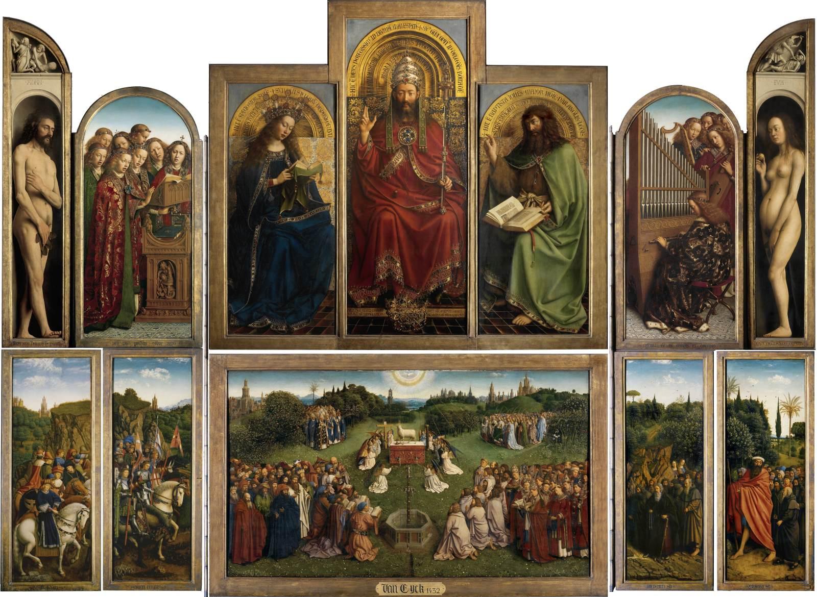 Ghent Altarpiece Lamb The Ghent Altarpiece (...