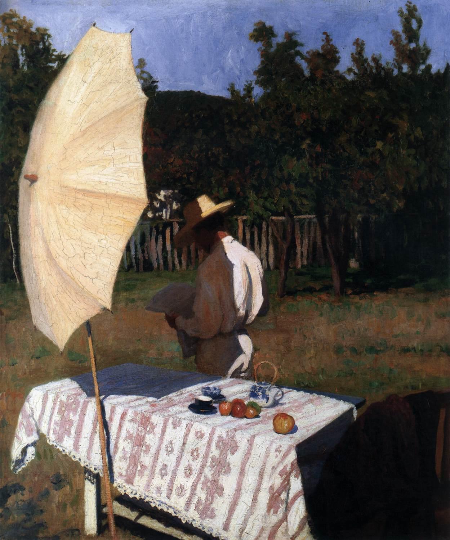 FERENCZY, Károly - 1903 - Październik