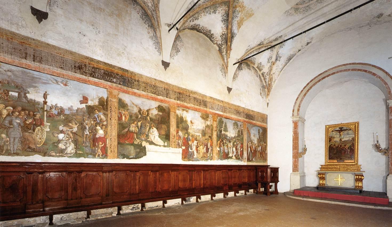 Frescoes in the Oratory of St Cecilia, San Giacomo Maggiore, Bologna