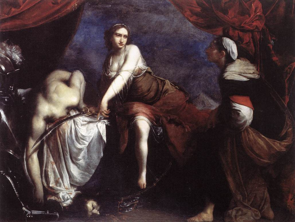 judith and holofernes The story behind judith and holofernes comes from the bible - the deuterocanonical book of judith the bible tells us that the king of nineveh, nebuchadnezzar, sent his general, holofernes, to subdue his enemies, the jews.