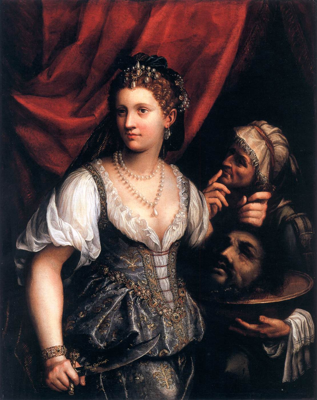 Judith with the Head of Holofernes by GALIZIA, Fede