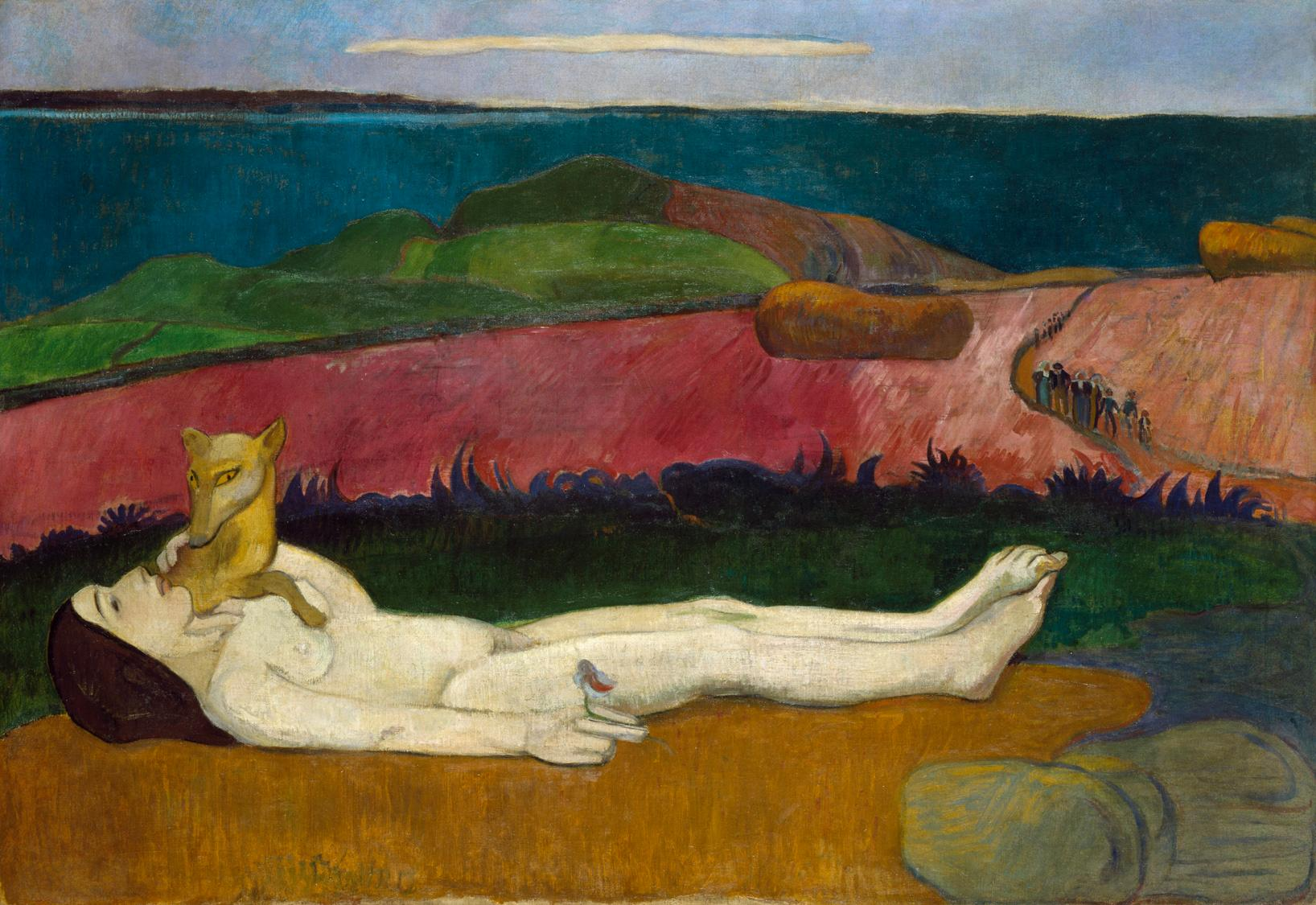 Loss of virginity by paul gauguin