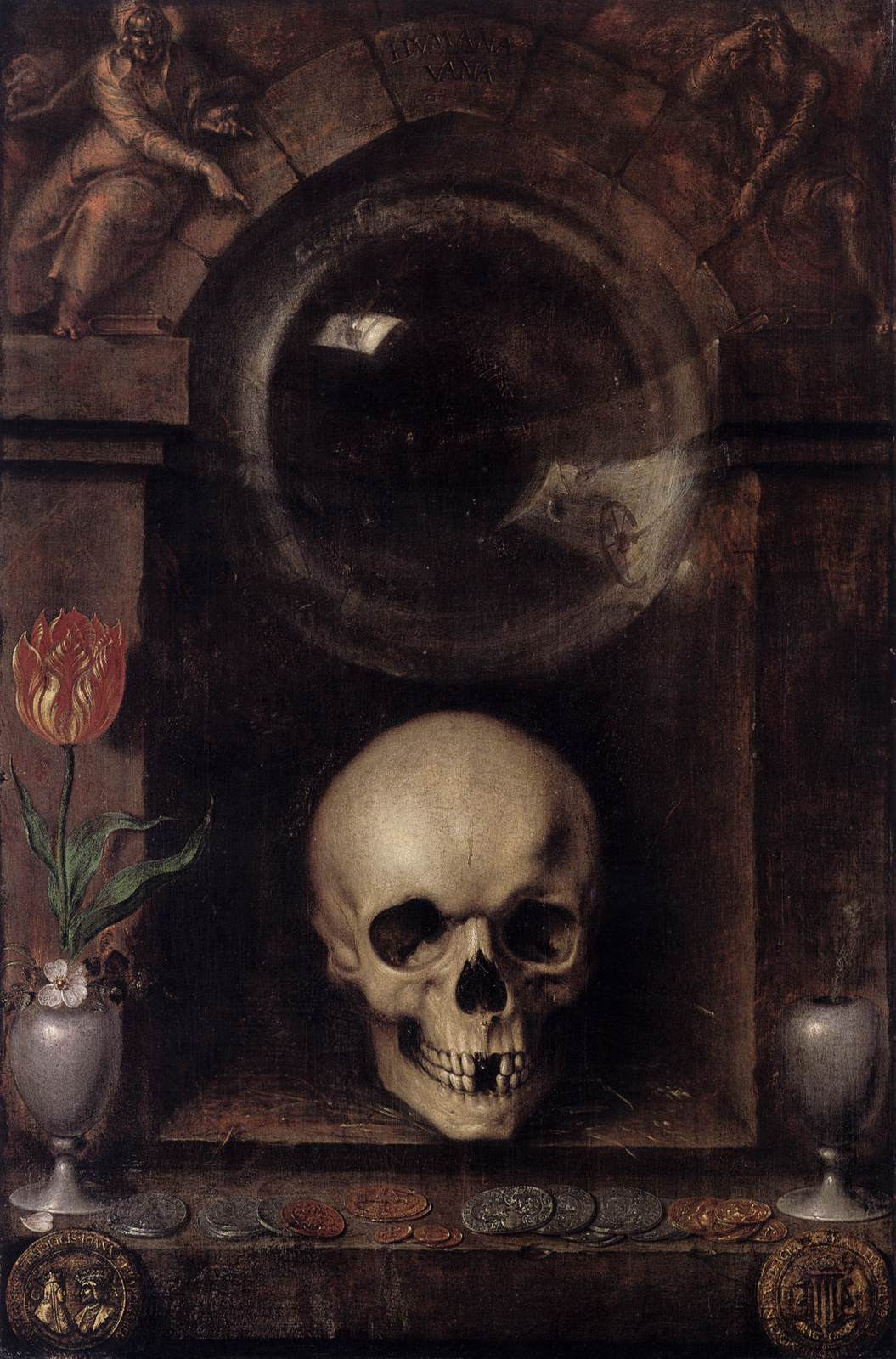 Vanitas Still Life By Gheyn Jacob De Ii